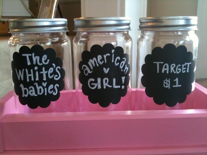 Make your own my lil money jars courtney defeo for Cute money saving jars