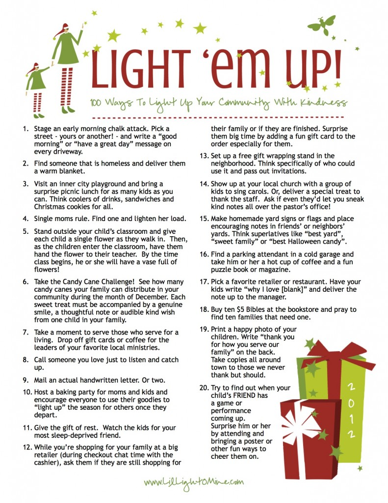 Light Em Up 100 Ideas FINAL