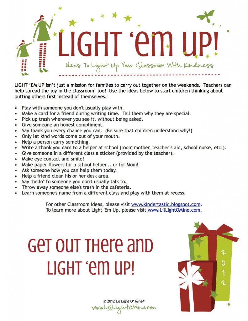 Light Em Up Classroom Ideas FINAL