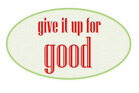 give it up for good logo