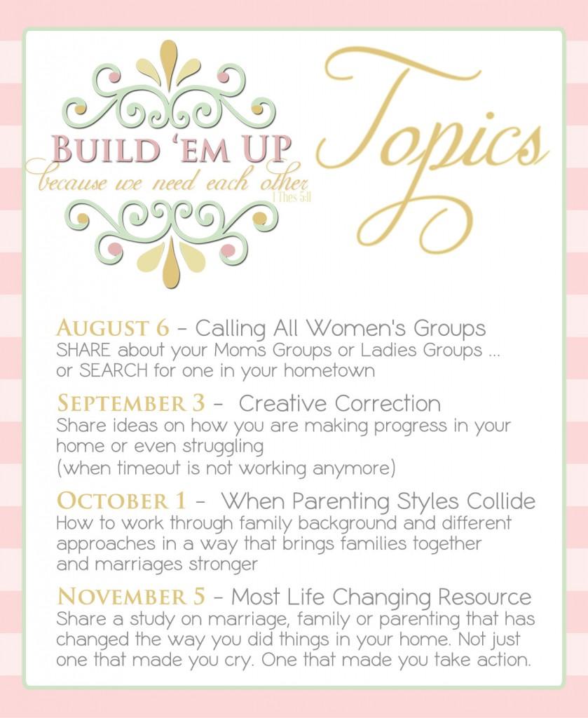 build em up topics 2