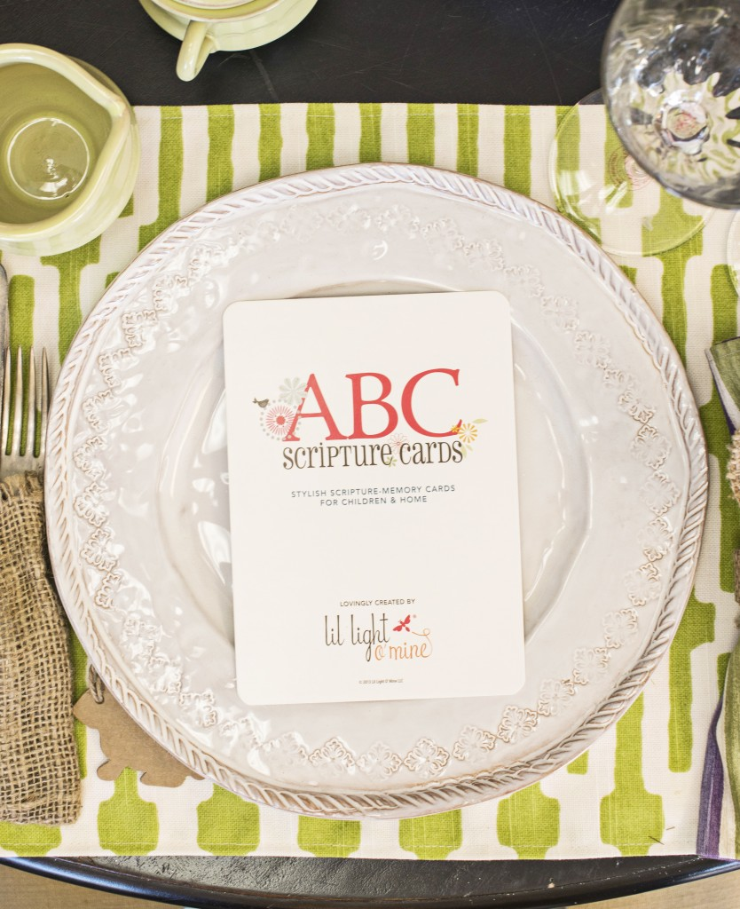 New Photos of ABC Scripture Cards