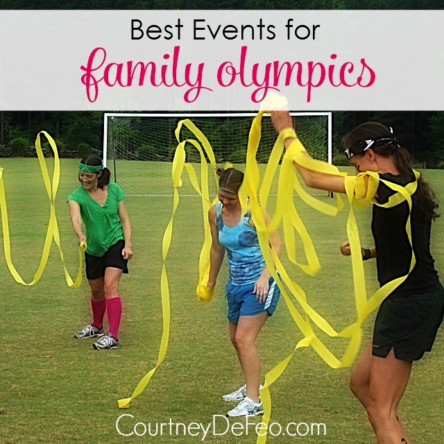 Best Events for Family Olympics