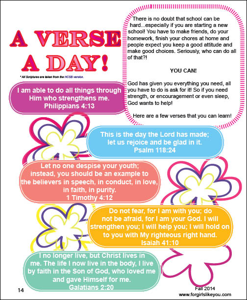 Verse A Day Preview