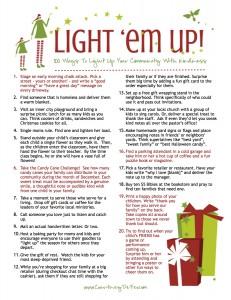 Light Em Up 100 Ideas 2014 FINAL