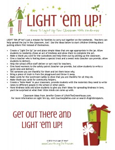 Light Em Up Classroom Ideas 2014