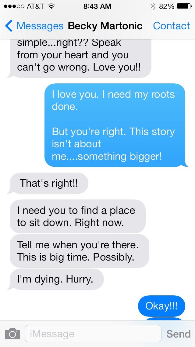 becky text