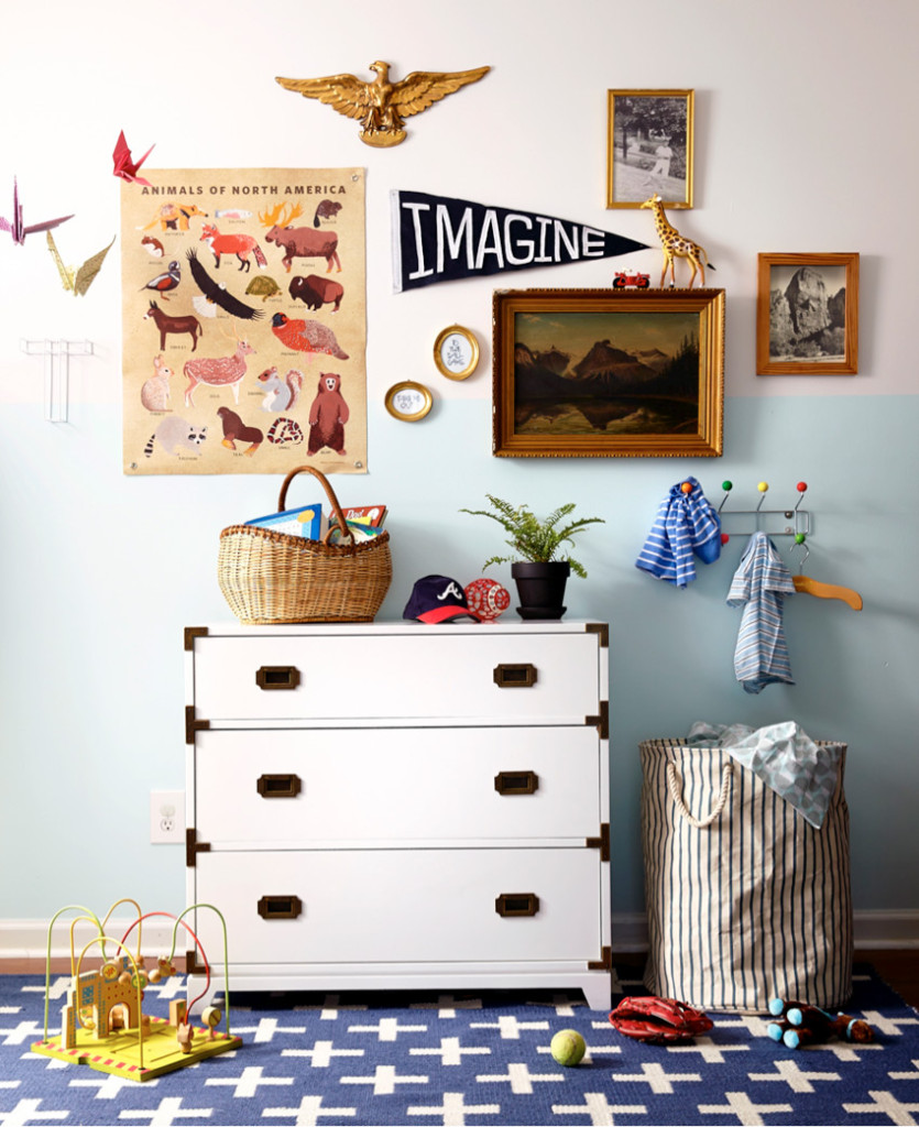 Kids' Rooms Eclectic