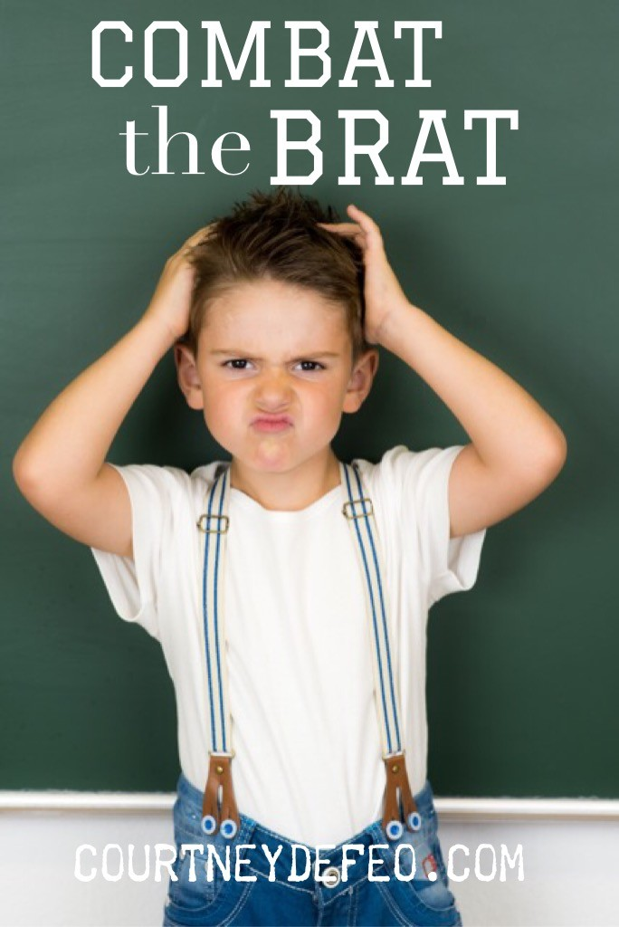 How to combat the brat. That rhymes.